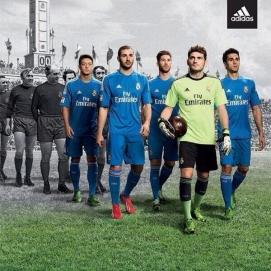 6. Real Madrid is usually known for their all whites. However, Los Blancos away look is much more eye catching and suitable for the representatives of the nations capital.