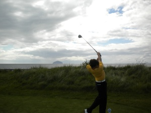 Me at Turnberry